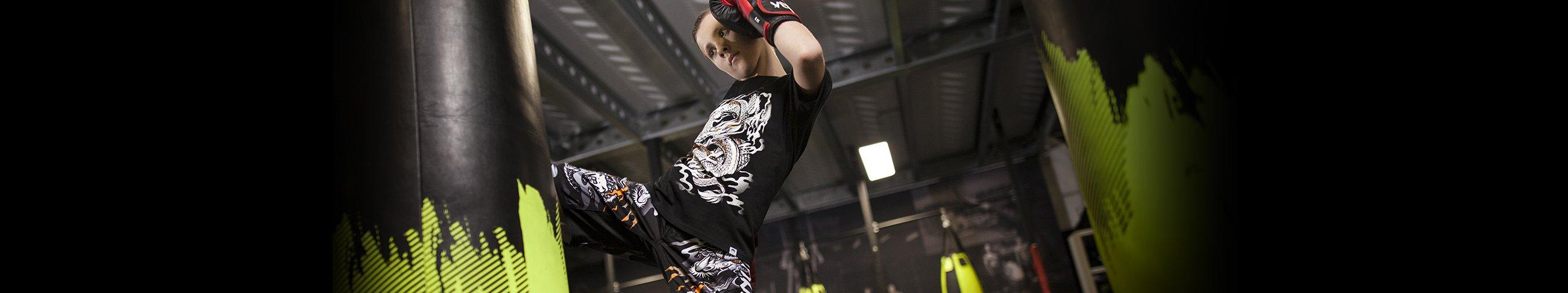 Vêtements enfants et équipements sports de combat & arts martiaux | Dragon Bleu