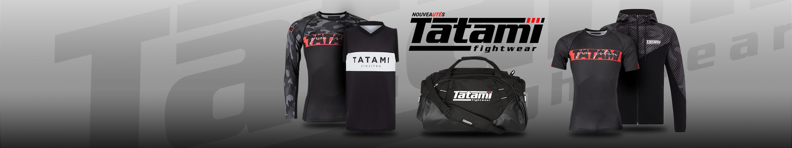 Tatami Fightwear : vêtements, équipements & accessoires de la marque Tatami Fightwear | Dragon Bleu