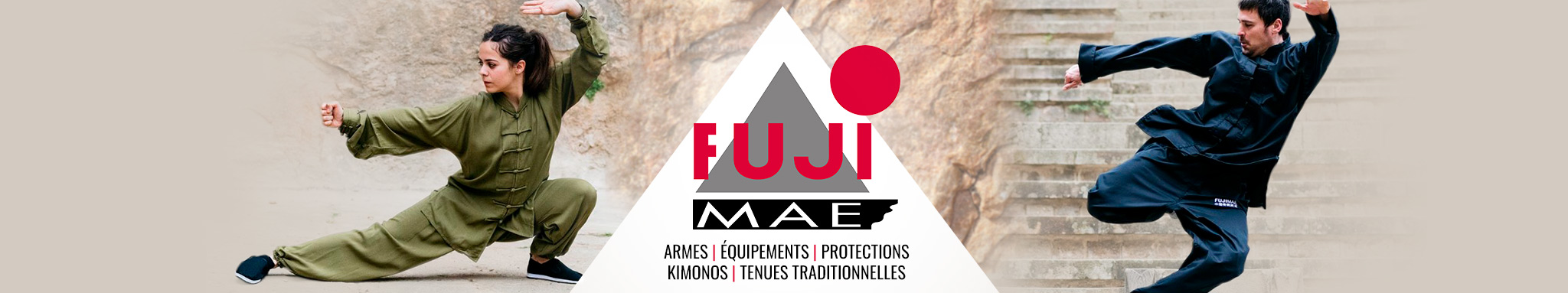 FUJI MAE : vêtements, équipements & accessoires de la marque FUJI MAE | Dragon Bleu