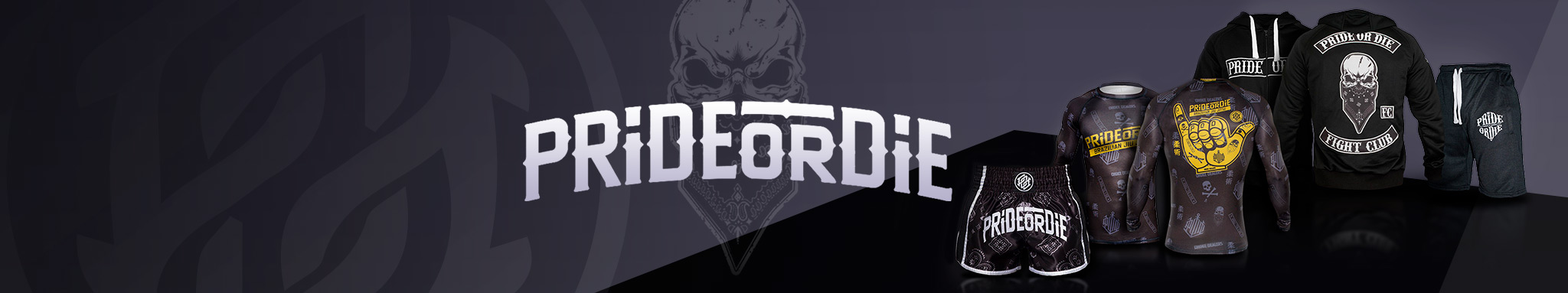 Pride or die : vêtements de la marque PrideOrDie | Dragon Bleu