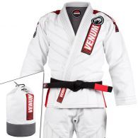 Kimono de JJB Venum Elite 2.0 + Sac de transport - Blanc