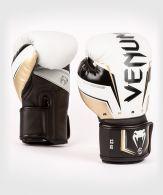 Gants de Boxe Venum Elite Evo - Blanc/Or