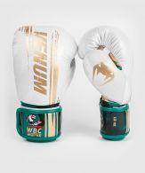 Gants de boxe Venum WBC Muay Thai - Blanc/Vert