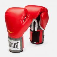 Gants de Boxe Everlast Velcro Pro Style TRNG - Rouge