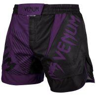 Fightshort court Venum NoGi 2.0 Approuvé IBJJF - Noir/Violet