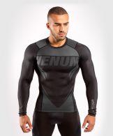 T-shirt de compression Venum ONE FC Impact - manches longues - Noir/Noir