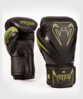 Gants de boxe Venum Impact - Noir/Jaune Fluo