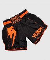 Short de Muay Thai Venum Giant - Noir/Orange Fluo
