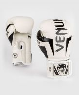 Gants de Boxe Venum Elite - Blanc/noir