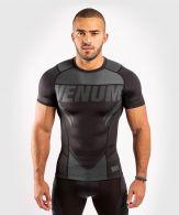 T-shirt de compression Venum ONE FC Impact - manches courtes - Noir/Noir