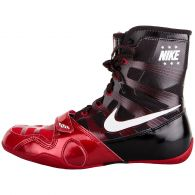 Chaussures de boxe Nike semi-montantes HyperKo - Rouge/Blanc/Noir