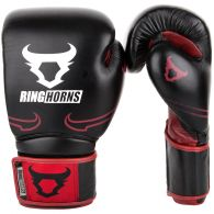 Gants de boxe Ringhorns Destroyer - Cuir - Noir/Rouge