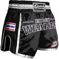 Short Muay Thai 8 Weapons Carbon