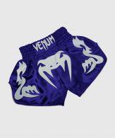 Short de Boxe Thaï Venum Bangkok Inferno - Bleu/Blanc