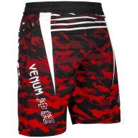Short de sport Venum Okinawa 2.0 - Noir/Blanc-Rouge
