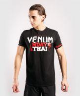 T-Shirt Venum MUAY THAI Classic 20 - Noir/Rouge