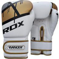Gants de boxe RDX Sports Quadro-Dome - Blanc