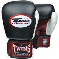 Gants de boxe Twins - Noir/Bordeaux/Blanc