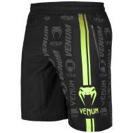 Short de sport Venum Logos - Noir/Jaune Fluo