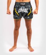 Short de Muay Thai Venum ONE FC Impact - Gris/Noir