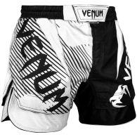 Fightshort court Venum NoGi 2.0 Approuvé IBJJF - Noir/Blanc