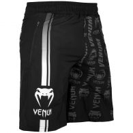 Short de Sport Venum Logos - Noir/Blanc
