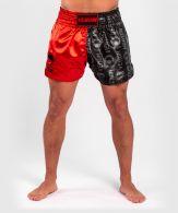 Short de Muay Thai Venum Logos - Noir/Rouge