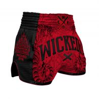Short de Muay Thai Wicked One Tiger - Rouge