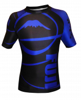 Rashguard Fuji Sports Freestyle IBJJF Ranked - Manches courtes - Bleu