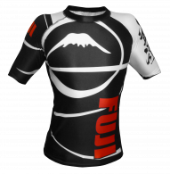 Rashguard Fuji Sports Freestyle IBJJF Ranked - Manches courtes - Noir