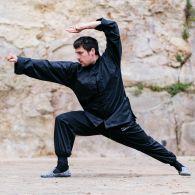 Tenue Kung Fu Fuji Mae - Training - Noire