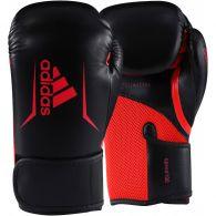 Gants de boxe Adidas Speed 100 - Noir/Rouge