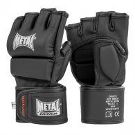 Gants Metal Boxe MMA Noir Black Light