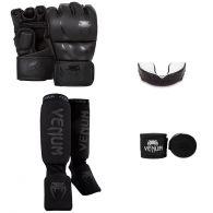 Pack MMA Venum Challenger - Noir/Noir