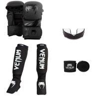 Pack MMA Venum Challenger Sparring - Noir/Noir