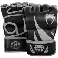 Gants de MMA Venum Challenger - Sans pouce - Noir/Gris