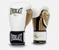 Gants de Boxe Everlast Powerlock Training - Blanc