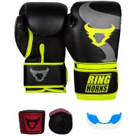 Pack Boxe Ringhorns - Jaune Fluo