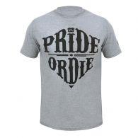 T-shirt Pride or Die Reckless - Gris
