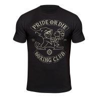 T-shirt Pride or Die Boxing Club - Noir