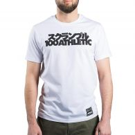 T-shirt Scramble x 100 Athletic - Blanc