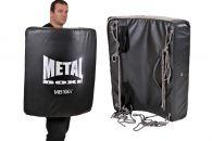 Bouclier Courbé Metal Boxe