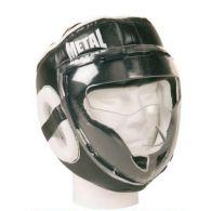 Casque de MMA Metal Boxe MB423 avec visière - Large
