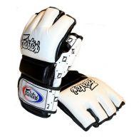 Gants de Combat Libre Fairtex V17 - MMA - Blanc/Noir