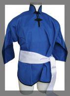 Veste de Kung-Fu Bleue Fuji Mae