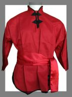 Veste de Kung-Fu Rouge Fuji Mae