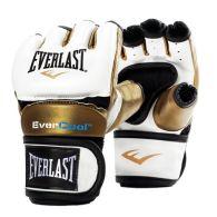 Gants de MMA Everlast Everstrike - Blanc/Or