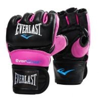 Gants de MMA Everlast Everstrike - Noir/Rose