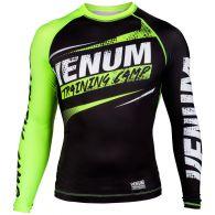 T-shirt de compression Venum Training Camp - Noir/Jaune Fluo
