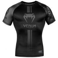 Rashguard Venum Logos - Manches courtes